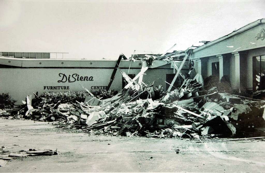 Superior Photo Of The Aftermath Of A Tornado That Hit The DiSiena Furniture Store In  Mechanicville In