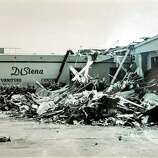 Photo Of The Aftermath Of A Tornado That Hit The DiSiena Furniture Store In  Mechanicville In
