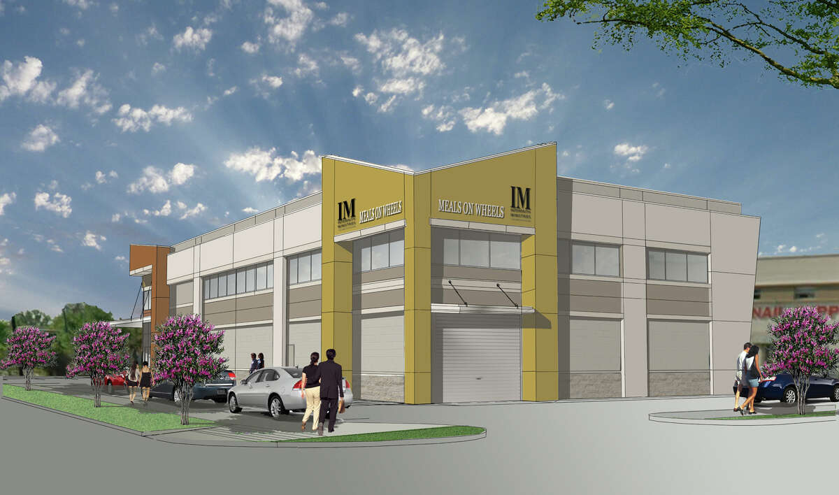 This rendering shows the new Meals on Wheels building that Interfaith Ministries plans to build in Midtown. The group also purchased the PrimeWay Federal Credit Union building for its new offices.