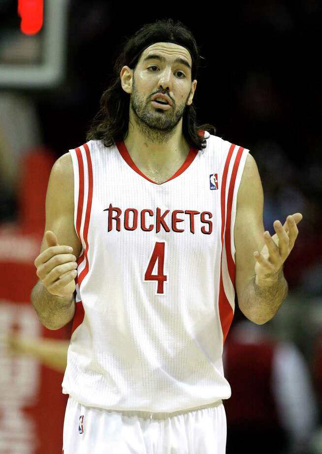 Forward Luis Scola spent five years with the Rockets and one with the Suns before joining the Raptors. He played with Beasley during that one season in Phoenix. Photo: Melissa Phillip / Houston Chronicle