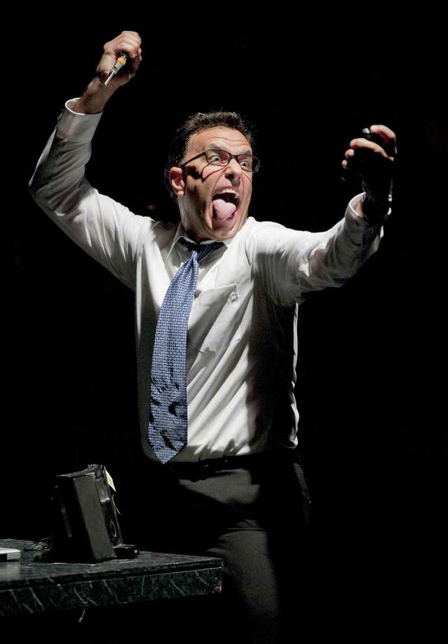 """Samuel Mungo performs in, """"The Telephone,"""" by Gian Carlo Menotti, Friday, July 13, 2012, at the Josephine Theatre in San Antonio. Photo: Darren Abate, Darren Abate/For The Express-News"""