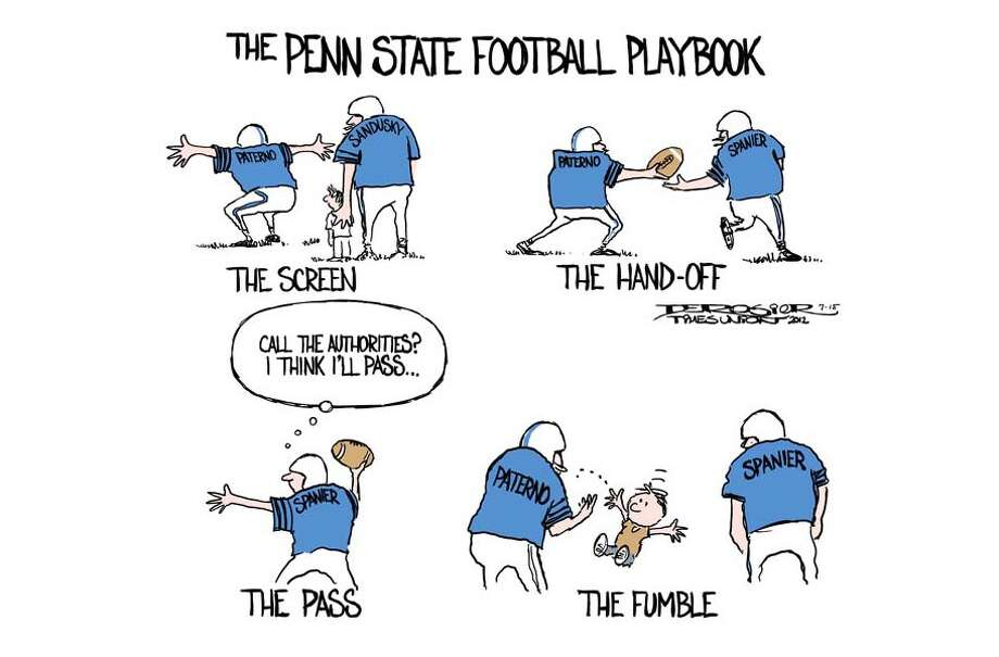 Penn State dropped ball on Sandusky abuse Photo: John De Rosier