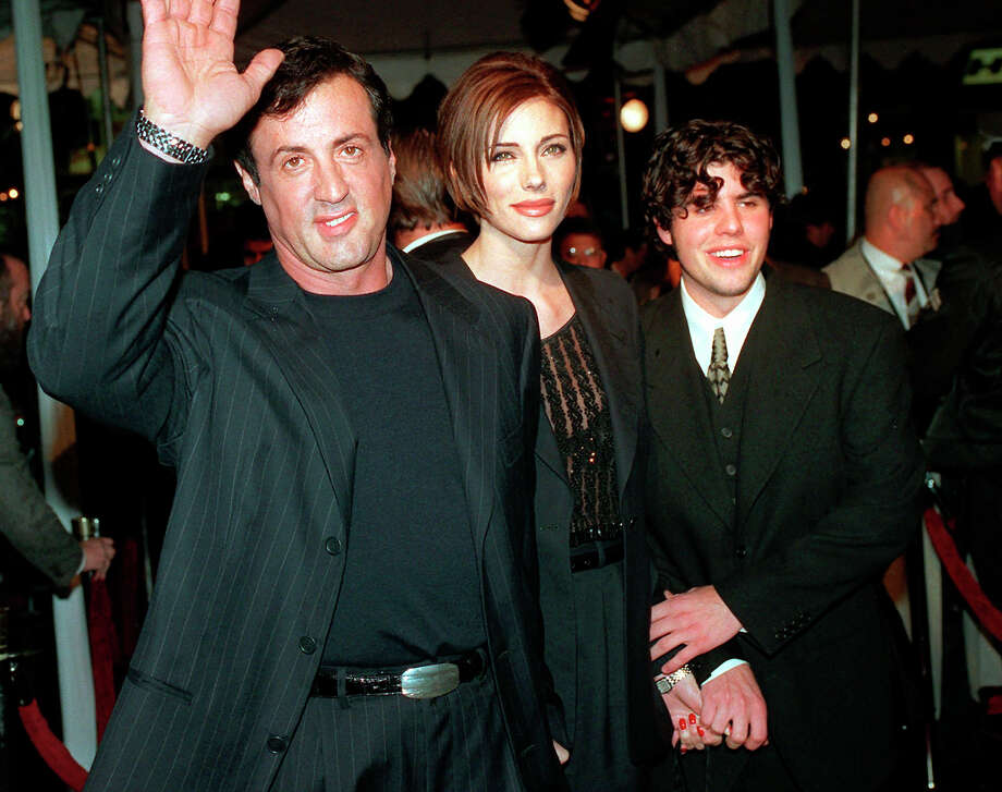 Sage Stallone, son of Sylvester Stallone, was found dead at 36 after a heart attack.  Photo: Kevork Djansezian / AP1996