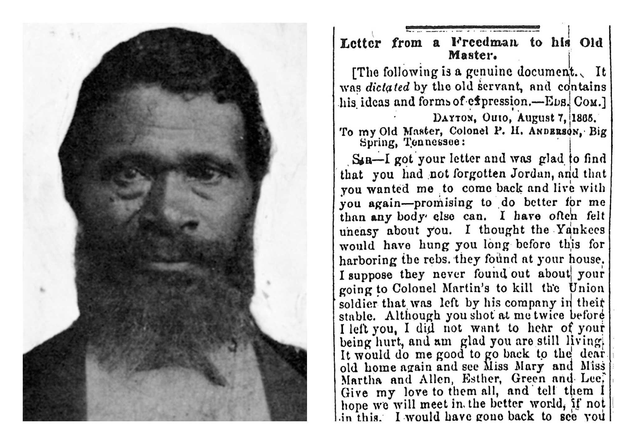 jourdon anderson letter