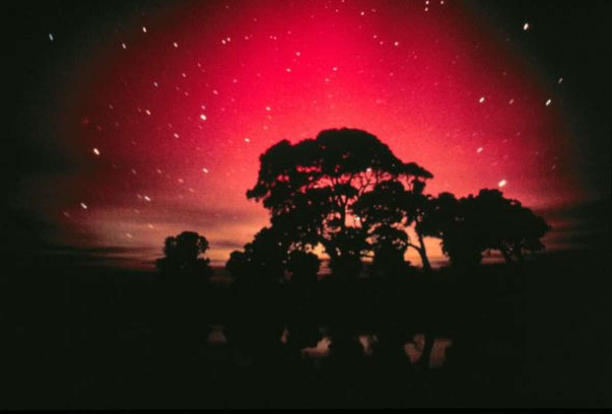Aurora Australis, the Southern Lights, as seen from South Australia as with Aurora Borealis, are displayed during strong geomagnetic events. This display was triggered when on March 29, 2001, the sun sent a powerful energy burst in the direction of Earth triggering dazzling aurora displays over nighttime skies.