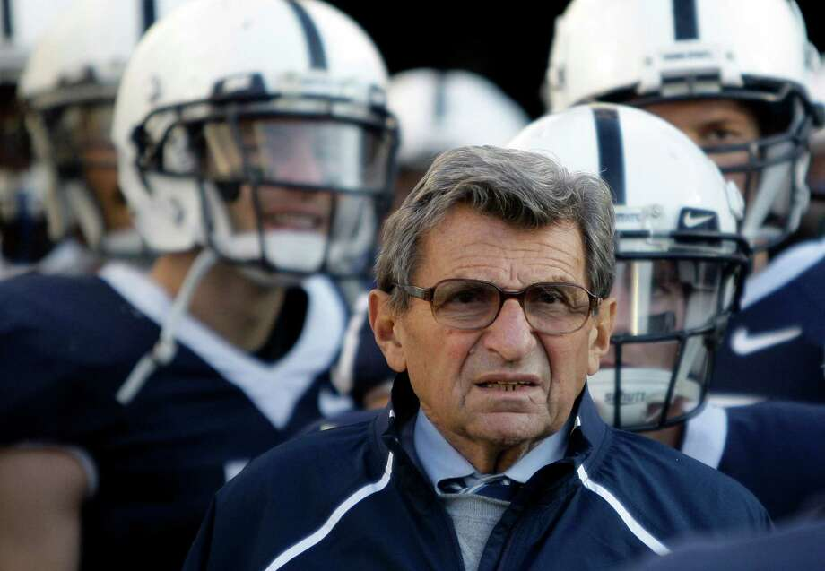 Child sex abuse scandal rocks Penn StateJerry Sandusky, the former defensive coordinator whose crimes led to such devastation for his victims and for his former employer, was found guilty on 45 of 48 counts. In October, the 68-year-old was sentenced to 30 to 60 years in prison. His conviction provided some closure, but a messy aftermath remained. Former FBI Director Louis Freeh released the results of his investigation July 12, saying beloved longtime head coach Joe Paterno and other top school officials covered up allegations against Sandusky. The NCAA used that report as a basis for its sanctions announced later that month, which included a $60 million fine, a four-year bowl ban and scholarship reductions. On Jan. 22, Paterno died from lung cancer. He was 85. Photo: Carolyn Kaster / AP2009