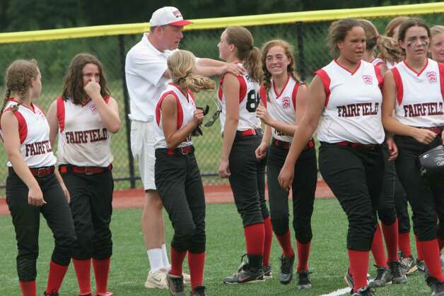 The Fairfield Little League softball team wins the state championship over Mystic on Sunday, June 16, 2012 at Sacred Heart University in Fairfield, Conn. Photo: Unknown, B.K. Angeletti / Connecticut Post freelance B.K. Angeletti