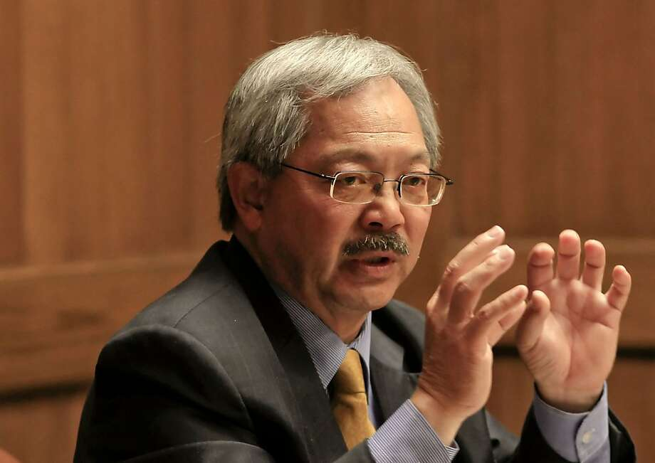 San Francisco Mayor Ed Lee meets with the San Francisco Chronicle editorial board, on Wednesday June 27, 2012, in San Francisco, Calif. Photo: Michael Macor, The Chronicle