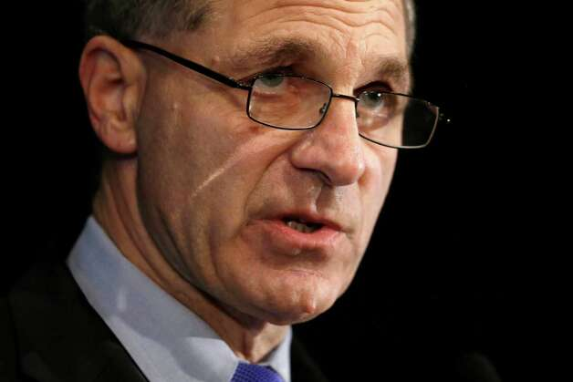 "FILE - In this July 12, 2012 file photo, former FBI director Louis Freeh speaks about the Freeh Report during a news conference, in Philadelphia. For more than two decades, colleges and universities have been required to publicly share details of campus crimes and report murders, rapes, robberies, arson and other serious offenses to the federal government. That requirement was apparently unheeded by former Penn State President Graham Spanier, other top officials and the larger ranks of university employees responsible for student safety, the recently released investigation into the Jerry Sandusky sex-abuse scandal concluded. The report by Freeh found that, outside the campus police department in State College, ""awareness and interest"" in the federal law known as the Clery Act  was ""significantly lacking."" (AP Photo/Matt Rourke, File) Photo: Matt Rourke"