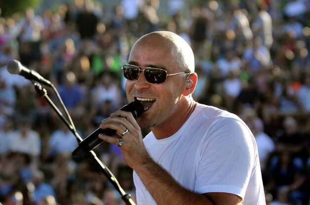 Live's Ed Kowalczyk and his band perform during the final show of the Alive at Five series on Thursday, Aug. 4, 2011, at Riverfront Park in Albany, N.Y. (Cindy Schultz / Times Union) Photo: Cindy Schultz / 00014154A