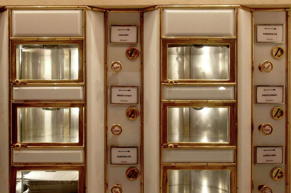 An automat is displayed as part of the