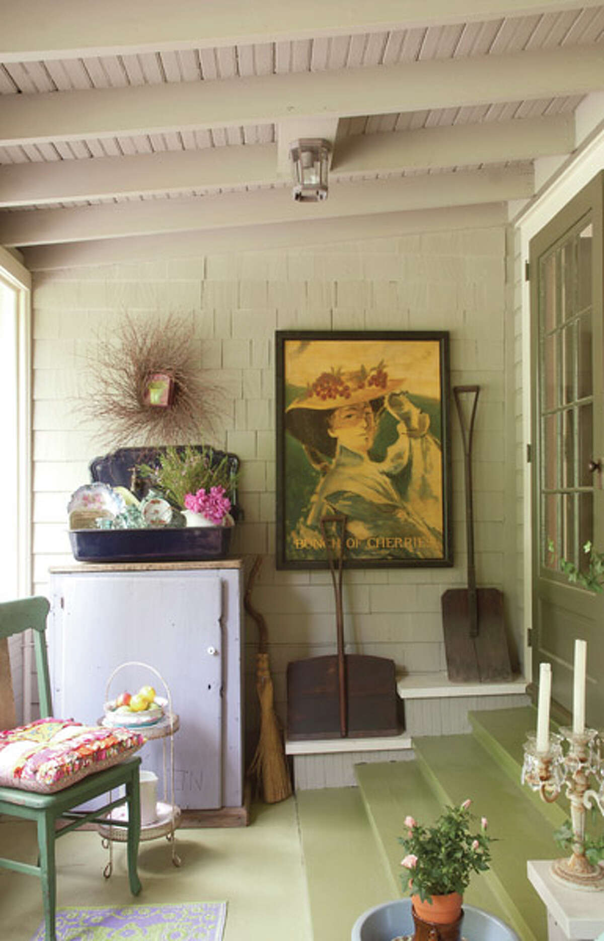 """""""If I'm true to myself, it somehow all goes together,"""" says Amanda Crames of her eclectic home and mix-and-match style. Read the full story here."""