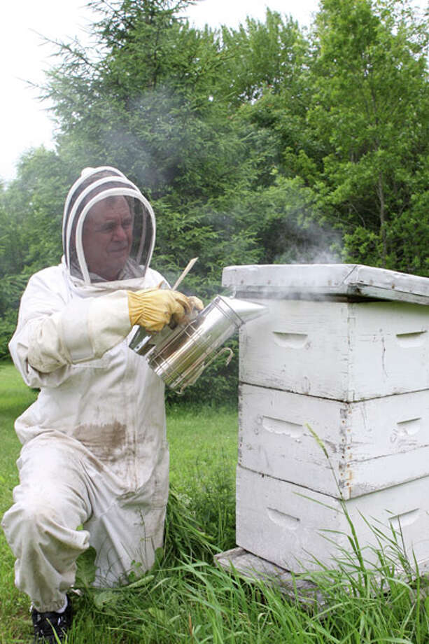 Beekeper Rick Green is passionate about caring for his 10 million honeybees, which create delicious, local honey. Read the full story here. Photo: Photos By Krishna Hill/Life@Home