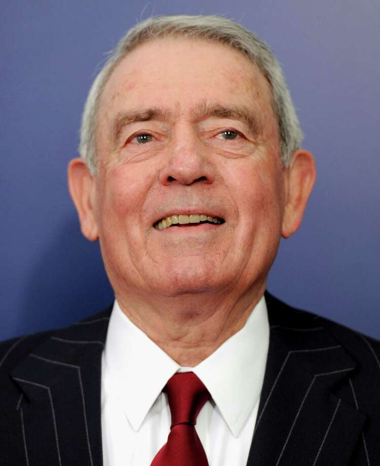 "FILE- In this Wednesday, Oct. 5, 2011, file photo, Journalist Dan Rather attends the premiere of ""The Ides of March"" at the Ziegfeld Theatre in New York. Retired CBS anchorman Dan Rather says his lawsuit against his former network was worth it, even though the $70 million breach-of-conduct case was rejected by New York courts. (AP Photo/Evan Agostini) Photo: Evan Agostini, Houston Chronicle / AP2011"