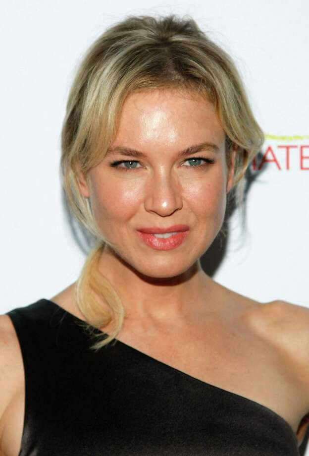Renee Zellweger Photo: Jemal Countess, Houston Chronicle / Getty Images North America