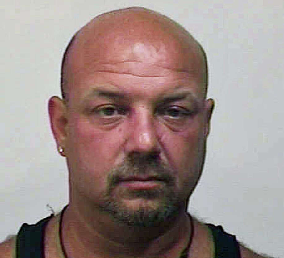 Michael Briganti, 44, is facing charges for the second time in one week for domestic violence. Photo: Contributed Photo / Fairfield Citizen
