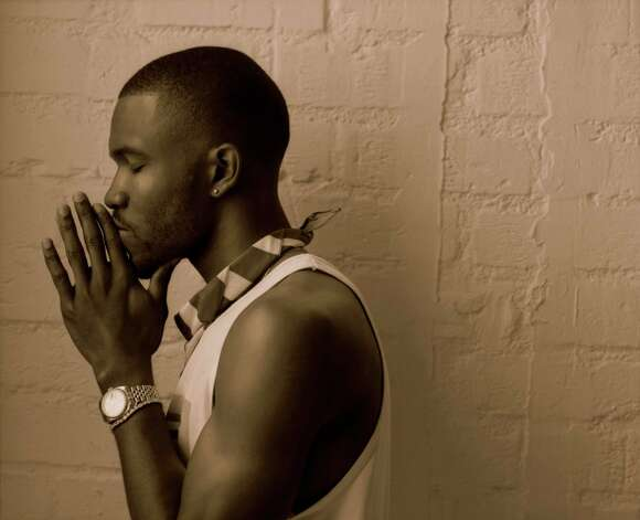 "Frank Ocean's first full-length studio album, ""Channel Orange,"" includes songs referencing ""he"" in the lovelorn lyrics. Photo: KEVIN SCANLON, STR / NYTNS"