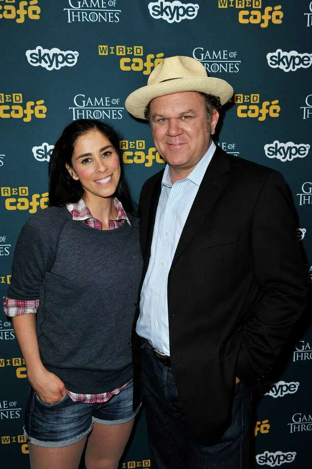 SAN DIEGO, CA - JULY 12:  Actors Sarah Silverman and John C. Reilly attend WIRED Cafe at Comic-Con held at Palm Terrace at the Omni Hotel on July 12, 2012 in San Diego, California. Photo: Jerod Harris, Getty Images For WIRED / 2012 Getty Images