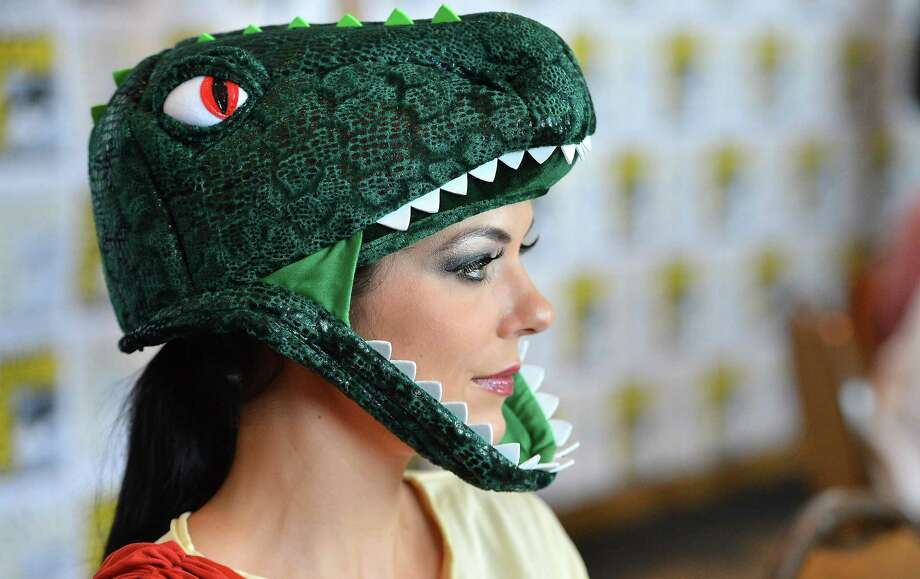 "SAN DIEGO, CA - JULY 12:  Adrianne Curry attends ""Stan Lee's World of Heroes"" during Comic-Con International 2012 held at the Hilton San Diego Bayfront Hotel on July 12, 2012 in San Diego, California. Photo: Frazer Harrison, Getty Images / 2012 Getty Images"