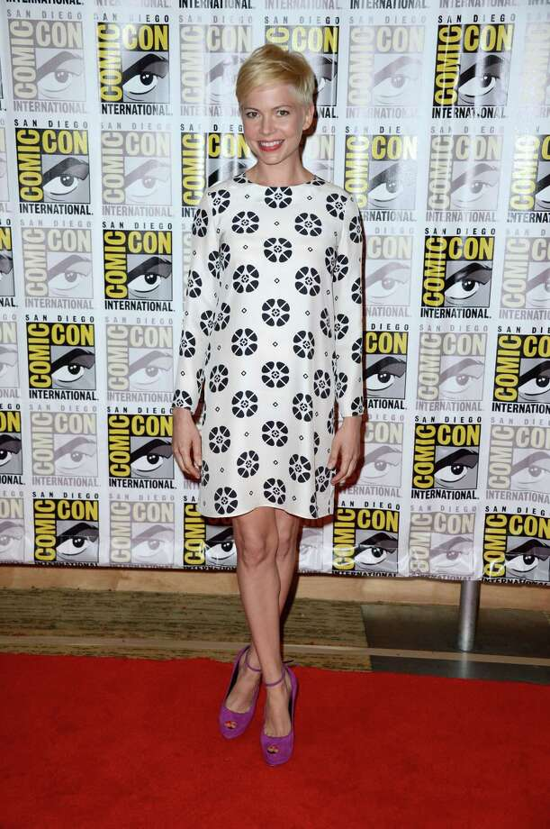 "SAN DIEGO, CA - JULY 12:  Actress Michelle Williams attends Walt Disney Studios: ""Frankenweenie,"" ""Wreck It Ralph"" and ""Oz"" during Comic-Con International 2012 held at the Hilton San Diego Bayfront Hotel on July 13, 2012 in San Diego, California. Photo: Frazer Harrison, Getty Images / 2012 Getty Images"