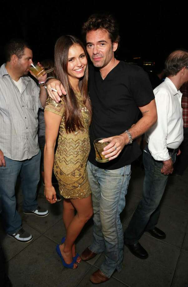 SAN DIEGO, CA - JULY 13:  Actors Nina Dobrev (L) and Billy Burke attend the Maxim, FX and Fox Home Entertainment Comic-Con Party at Andaz on July 13, 2012 in San Diego, California. Photo: Chelsea Lauren, Getty Images For Maxim / 2012 Getty Images