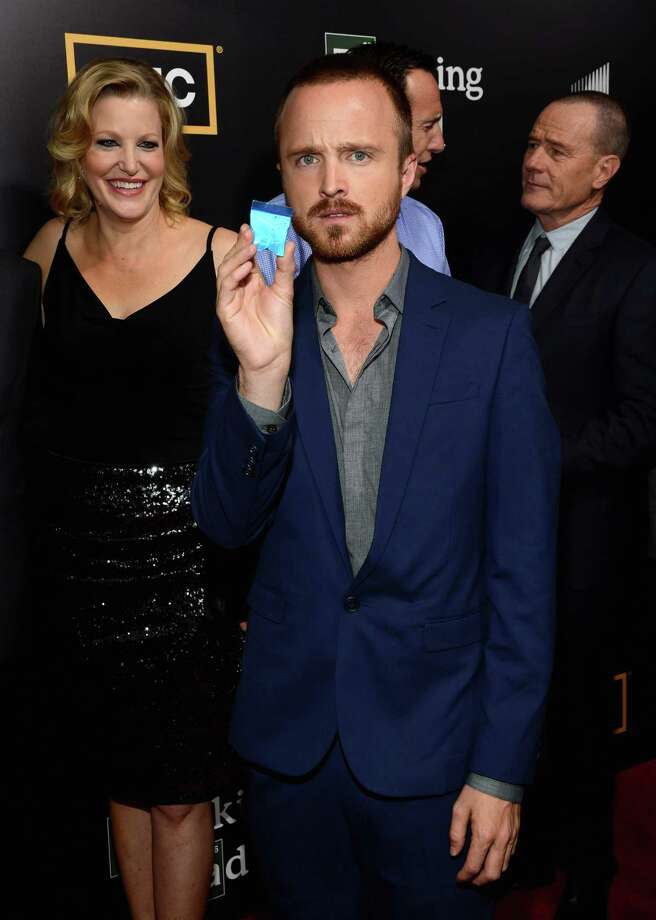 "SAN DIEGO, CA - JULY 14:  Actor Aaron Paul attends AMC's ""Breaking Bad"" Season 5 Premiere during Comic-Con International 2012 at Reading Cinemas Gaslamp on July 14, 2012 in San Diego, California. Photo: Mark Davis, Getty Images / 2012 Getty Images"