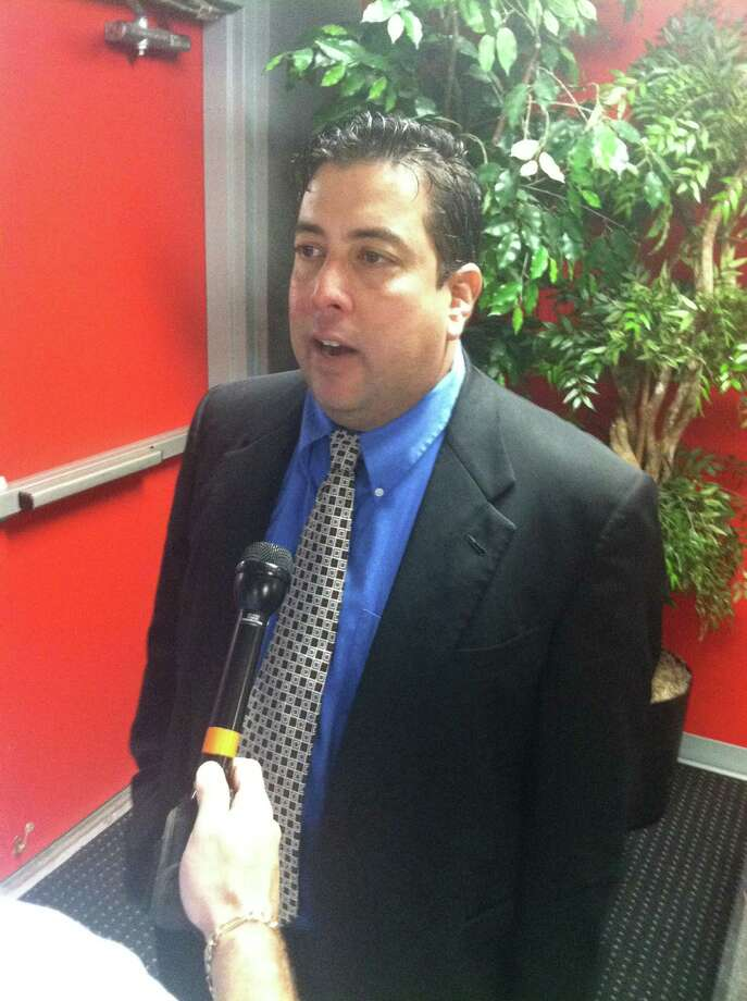 Orlando Cervantes is the new women's soccer coach at Lamar University. Photo: Christopher Dabe