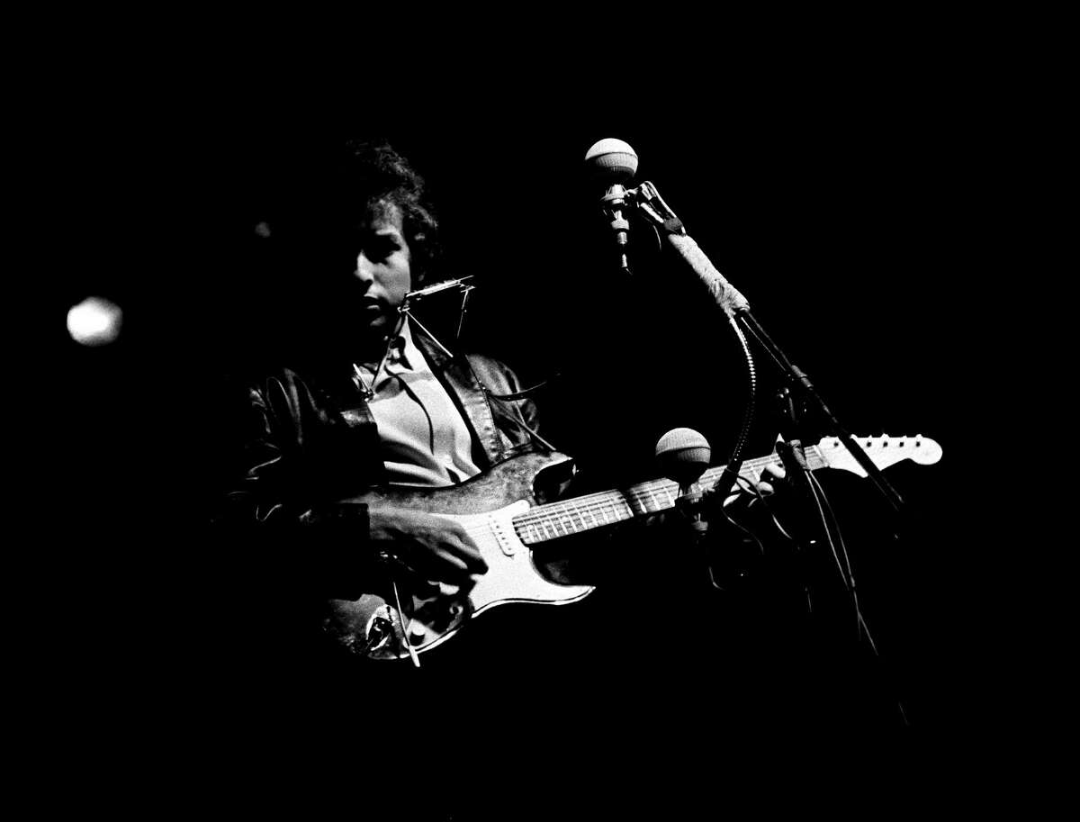 Bob Dylan shocked the music world in 1965 when he used an electric guitar at the Newport Folk Festival.
