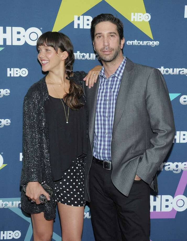David Schwimmer met cocktail waitress Zoe Buckman in London in 2001 when he was directing Run, Fat Boy, Run.  The two were married in 2010. Photo: Michael Loccisano, Getty / 2011 Getty Images