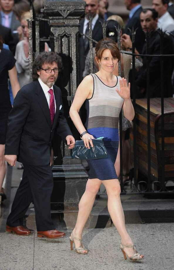 Tina Fey and Jeff Richmond began dating in 1994 and had their first fight after Richmond went to a strip club. Photo: Michael Loccisano, Getty Images / 2012 Getty Images