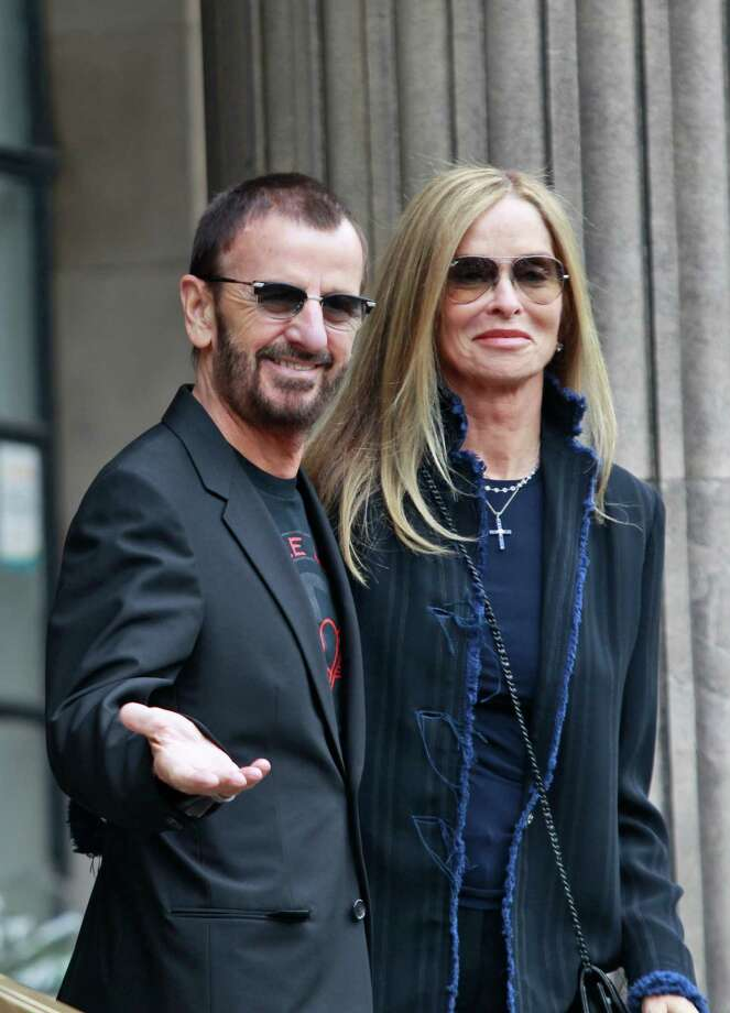 Former Beatle Ringo Starr and Barbara Bach were married in London in 1981. Photo: Lefteris Pitarakis, Associated Press / AP