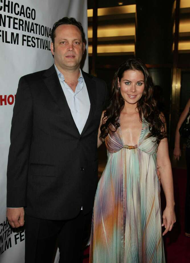 Vince Vaughn proposed to Canadian real estate agent Kyla Weber on Valentine's Day in 2009 and were married the next year. Photo: Tasos Katopodis, Getty Images For NBC / Getty Images North America