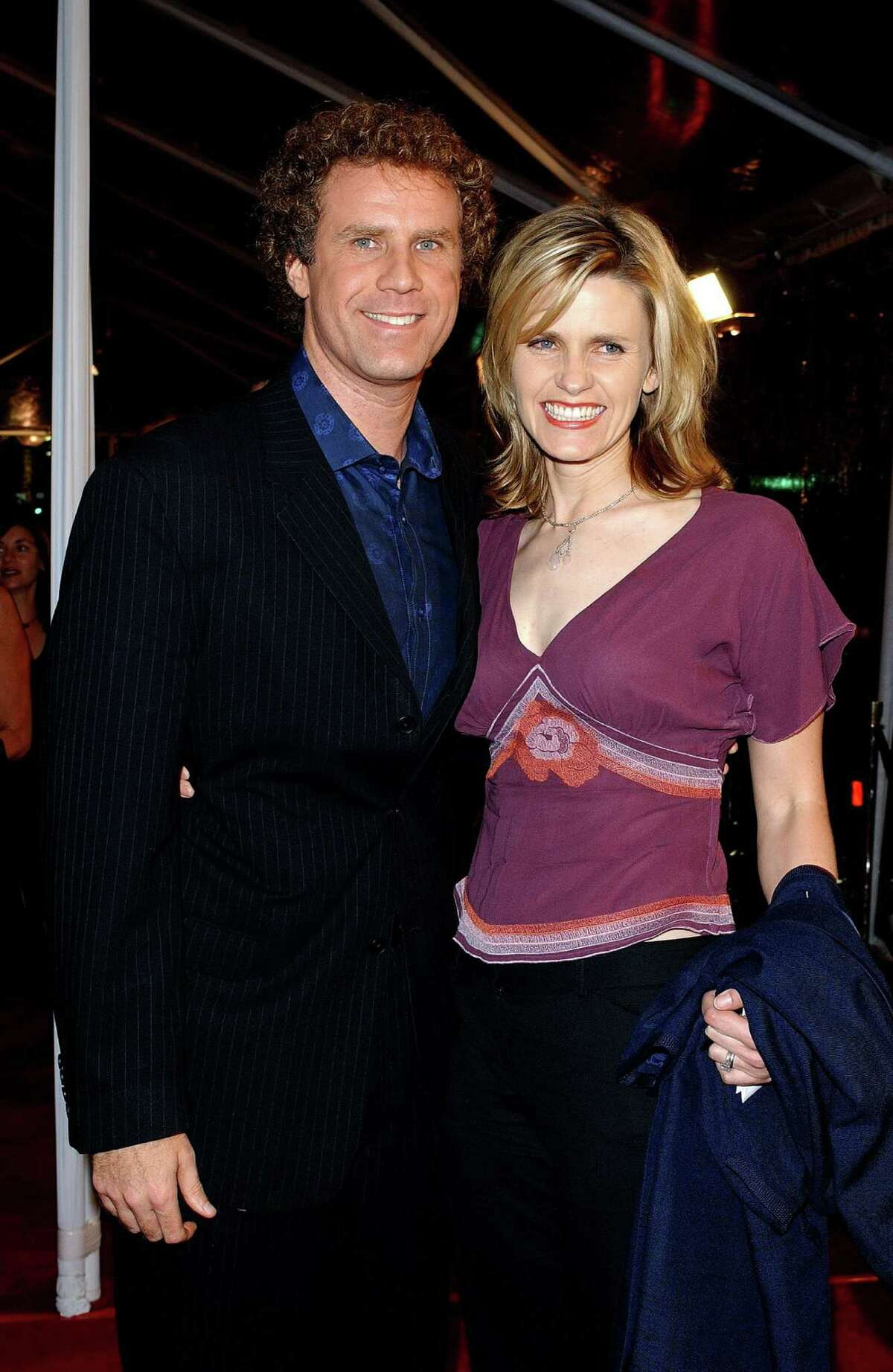 """Will Ferrell claims to have proposed to his wife Viveca Paulin by blindfolding her, taking her her to an undisclosed location then asking, """"Do you want to marry me?"""""""