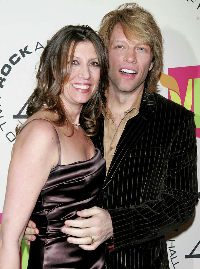 Jon Bon Jovi and Dorothea were high school sweethearts and were married in a Las Vegas chapel in 1989. Photo: STRINGER/USA, REUTERS / X01447