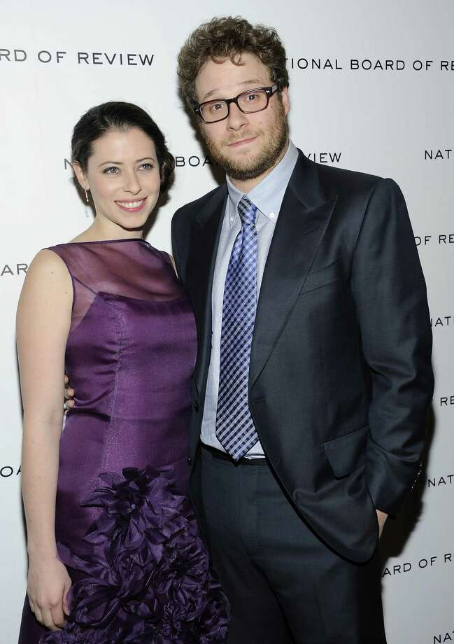 Seth Rogen and Lauren Miller's Sonoma, California wedding was so funny no one could help but laugh. Photo: Evan Agostini, Associated Press / AGOEV