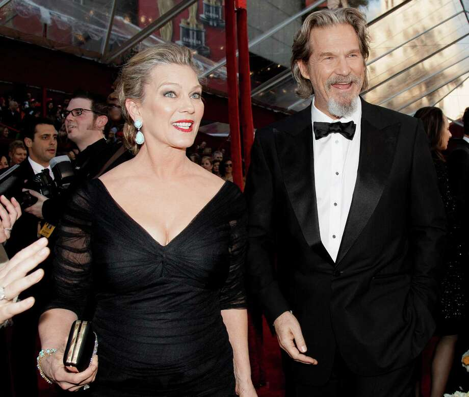 Jeff Bridges met Susan Geston in 1974 while shooting Rancho Deluxe and have been married for more than 30 years. Photo: Amy Sancetta, AP / AP