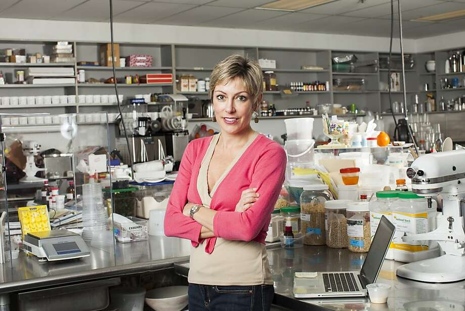 Barb Stuckey, executive vice president of sales and marketing of food developer Mattson, is seen at the company's laboratory  in Foster City. Photo: Stephen Lam, Special To The Chronicle
