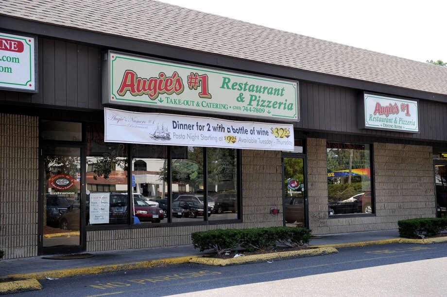 Augie's #1 Restaurant & Pizzaeria is located in at 30 Germantown Road  in Danbury, Ct. Photo: Carol Kaliff