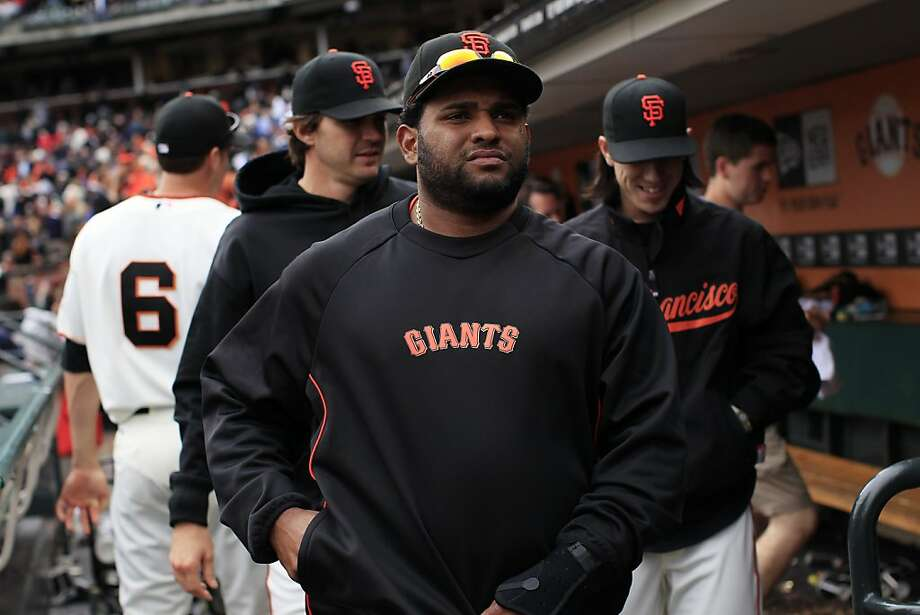 Pablo Sandoval #48 of the San Francisco Giants pictured during a match against the visiting Miami Marlins at AT&T Park in San Francisco, Calif. on Thursday, May 3, 2012. The Marlins defeated the Giants 3-2. Photo: Stephen Lam, Special To The Chronicle