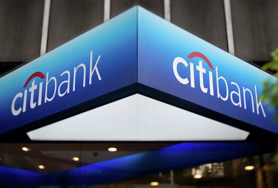 Citigroup Inc. signage is displayed outside of a branch in this photo taken with a tilt shift lens in New York, U.S., on Friday, July 6, 2012. Citigroup Inc., the third-biggest U.S. bank, reported second-quarter profit that beat analystsí estimates on revenue from advising on mergers and underwriting stocks and bonds. Photographer: Scott Eells/Bloomberg Photo: Scott Eells, Bloomberg / © 2012 Bloomberg Finance LP