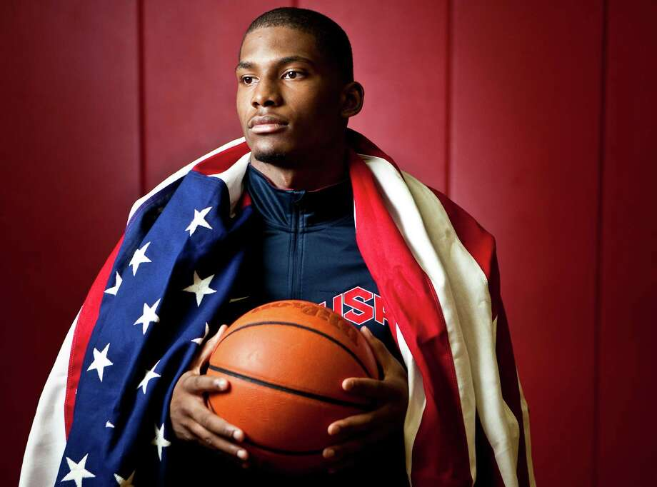 Justise Winslow of St. John's School added to his burgeoning basketball résumé with a gold medal from the under-17 World Championships. Photo: Nick De La Torre / © 2012  Houston Chronicle