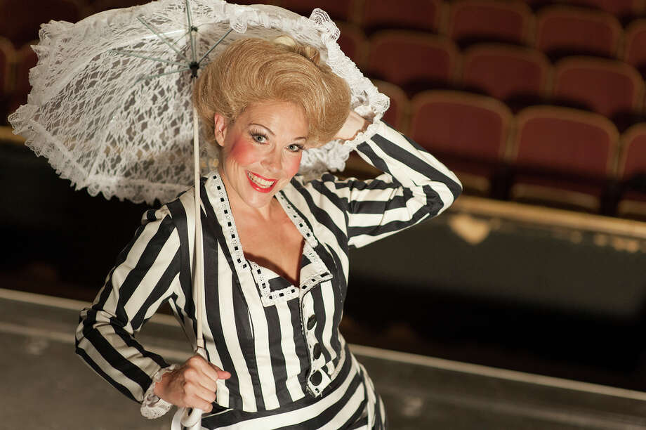 "Katy Moore plays the title role in the Playhouse San Antonio staging of ""Hello, Dolly!"" Courtesy Dwayne Green"