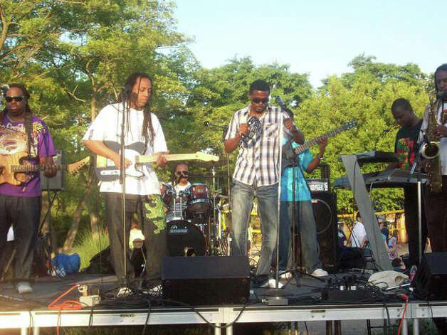 The reggae band Anthem will perform Sunday at Bayley Beach. Photo: Contributed Photo