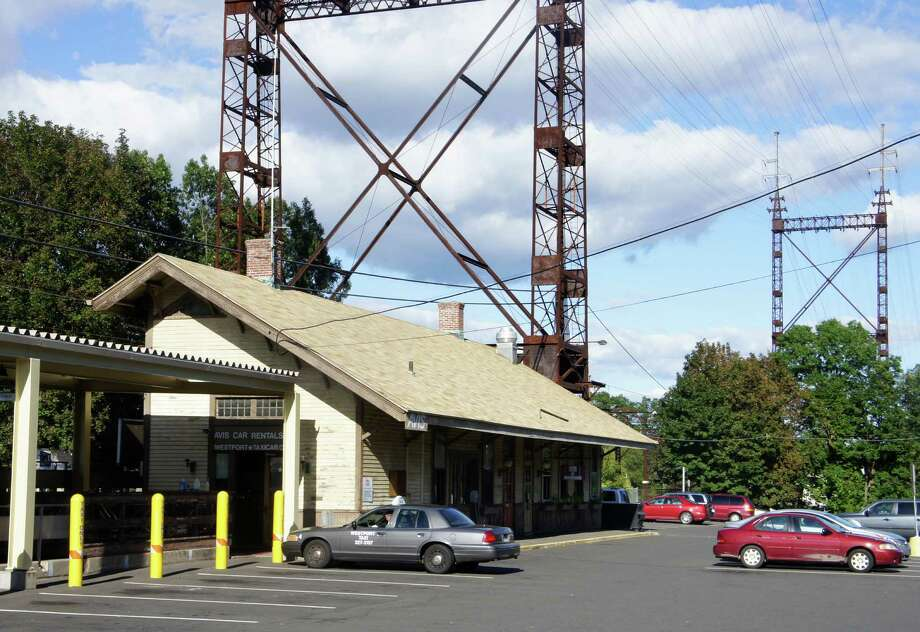 A view of the Saugatuck Metro-North train station's eastbound stationhouse in 2011, before the start of the current round of renovations to the stationhouse. Photo: Paul Schott / Westport News
