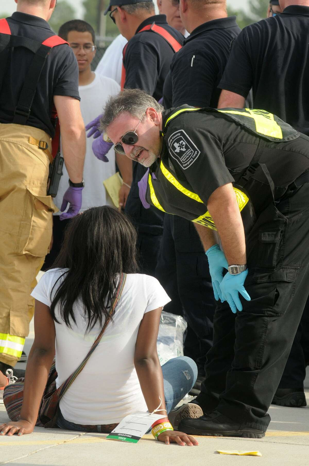 Emergency responders tend to