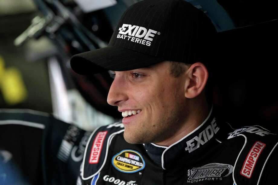 James Buescher captured his first NASCAR victory in Daytona at the season-opening race for the NASCAR Nationwide Series. He returned to victory lane two more times behind the wheel of his No. 31 Turner Motorsports Chevrolet. Photo: Staff / Copyright, CIA Stock Photography, Inc.