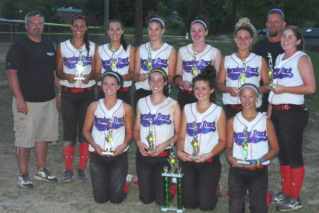 628x471 Warning Track Heat Black 16 and under girls softball won the Amateur ...