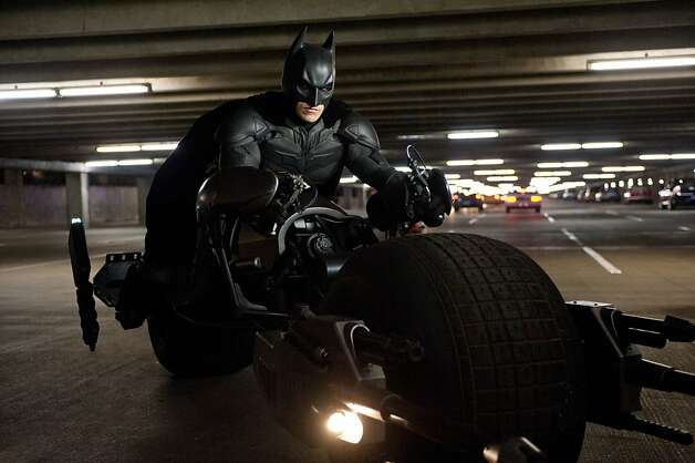 "Christian Bale as Batman in Warner Bros. Pictures' and Legendary Pictures' action thriller ""The Dark Knight Rises."" Photo: Ron Phillips, Warner Bros."