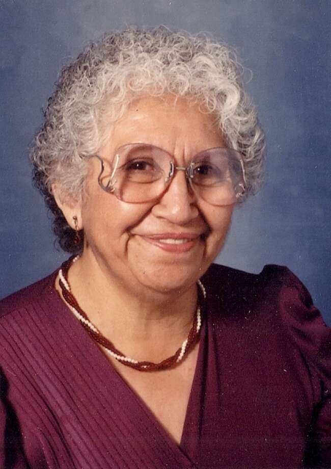 Ninfa Islas Guerra, who died Monday at 80, grew up doing migrant farm work which prevented her from getting an education. She got her GED in her late 40s and later worked as a teacher's aide at South West ISD Photo: Courtesy / COURTESY OF THE FUNERAL HOME