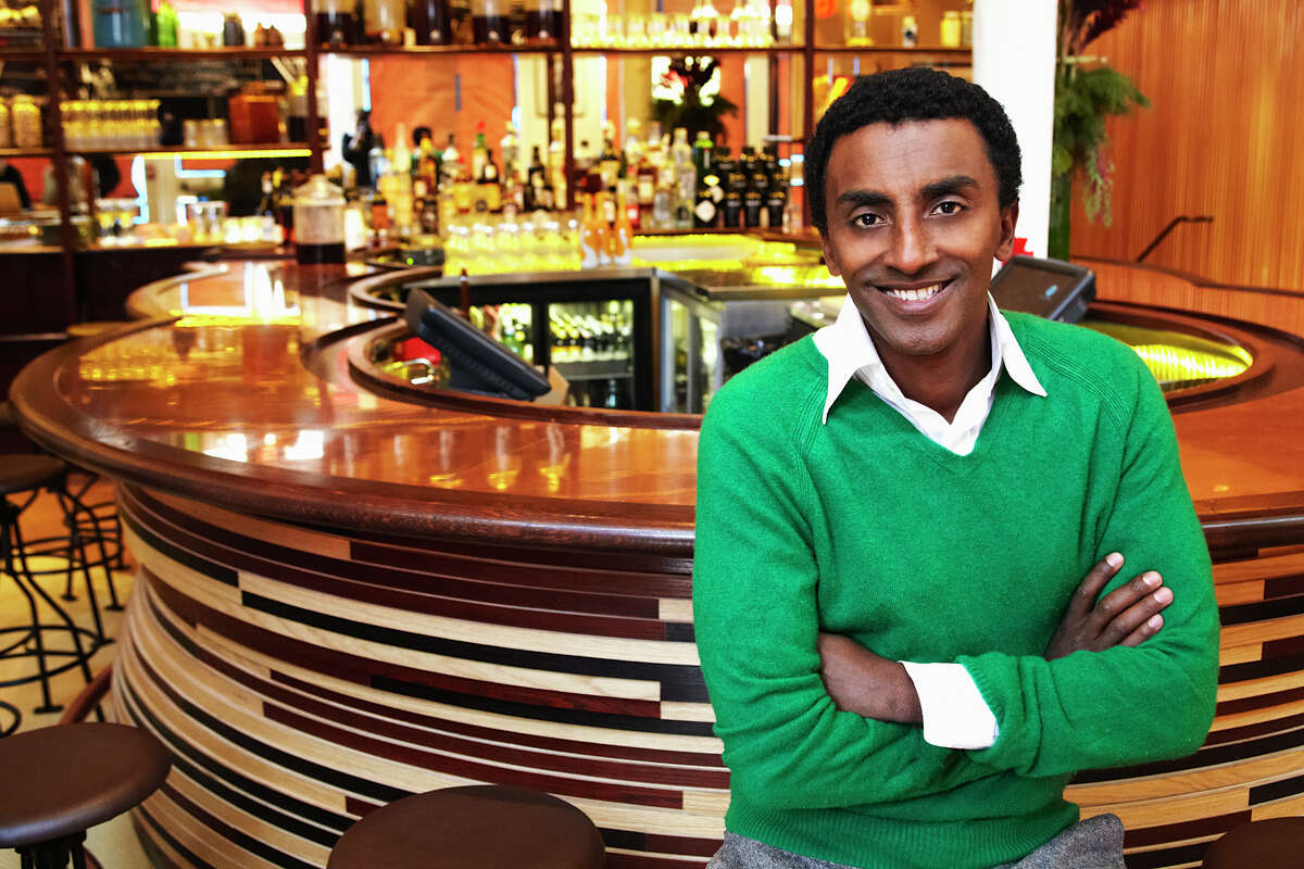 Chef Marcus Samuelsson of Red Rooster Harlem. He is the host of